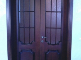 Купити класичні двері міжкімнатні двохполовинкові