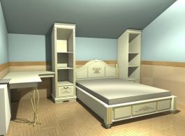 Проект дитячої спальні-2