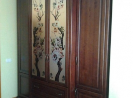 Дерев'яні шафи для спальні-08