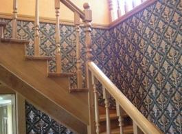 Дерев'яні сходи-11