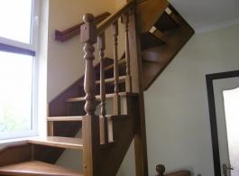Дерев'яні сходи-22