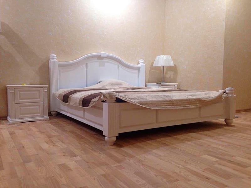 Меблі для спальні з дерева фото
