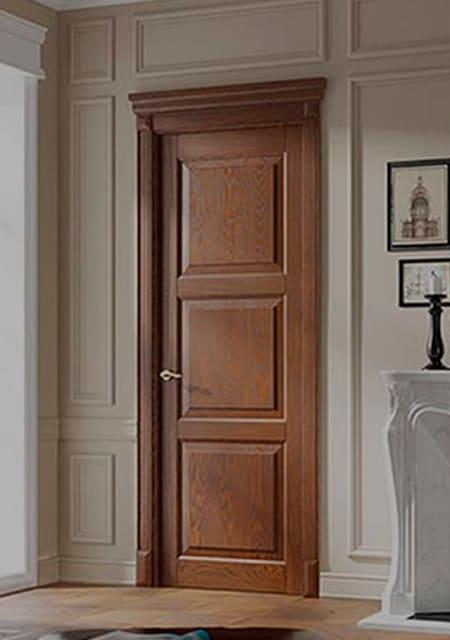 Міжкімнатні двері з дерева від виробника