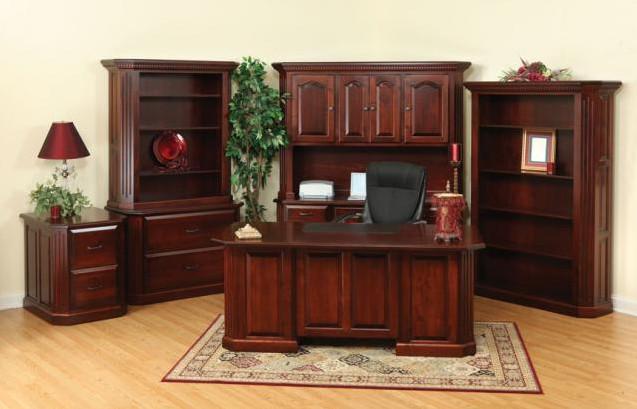 Мебель-для-офиса-из-натурального-дерева-1