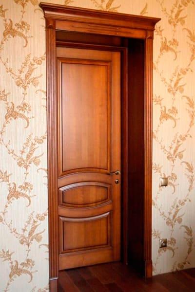 ᐉ виробництво міжкімнатних дверей з масиву дерева ціни