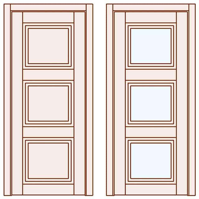 Стильні міжкімнатні двері Grace 2019