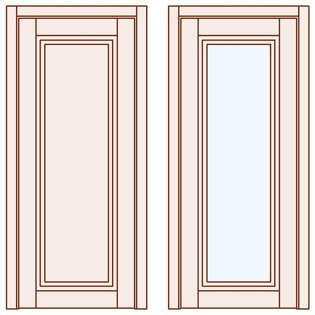 Глухі двері Grace від виробника