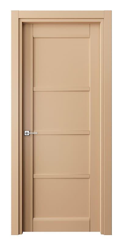 Глухі елегантні двері «Matrix» світло коричневого кольору