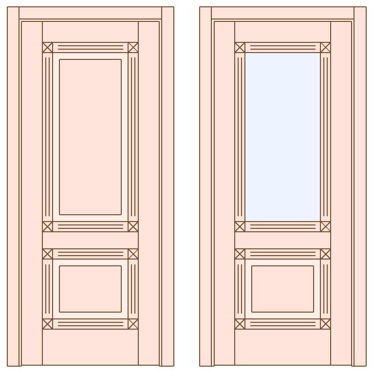 Двері Glamour